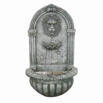 set a fifty buck wall fountain of composite or                     resin on neighbor's wall, facing your FRENCH DOOR,                     and grow IVY LUSHLY on your sideof HIS WALL