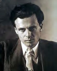 ALDOUS HUXLEY, THE WISEST MAN, TEACHER, WRITER. GRAND DAD OF THE NEW AGE