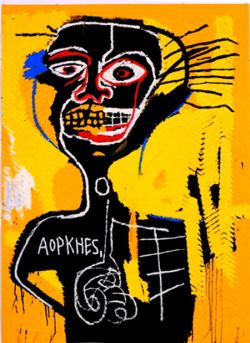 BASQUIAT type designs in ARTISANRY                       will sell well; they are HOT!