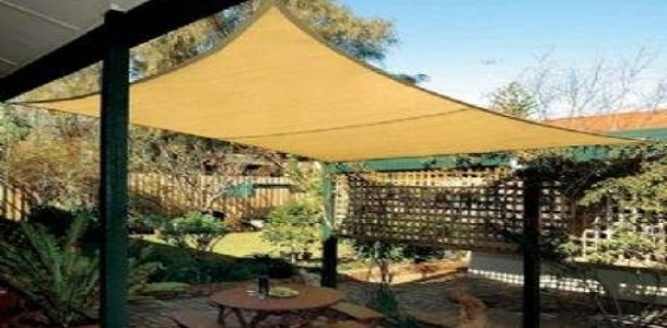 A TARP, a CANVAS roof can be cheaper than the                 bamboo fencing that lasts in an outdoor patio but a few                 yrs at best.