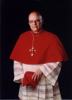 cold cardinal, curt and critical of the poor. NOT CATHOLIC AT ALL!