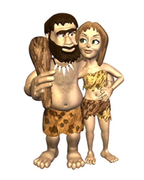 darwinian date, caveman love