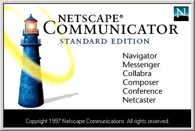 COMMUNICATOR by NETSCAPE. A thing of beauty
