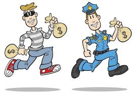 burglar or cop? What is the difference? BOTH STEAL!