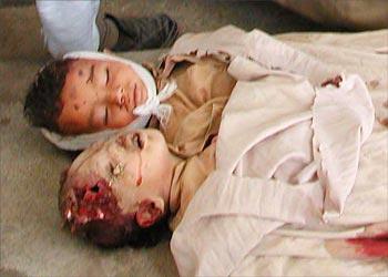 BUSH ADMIN STARTED GENOCIDE of CHILDREN