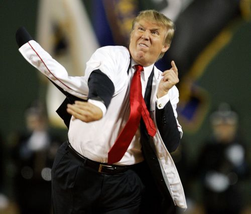 The DONALD on a GOOD DAY, Olberman Picture                         from 2006