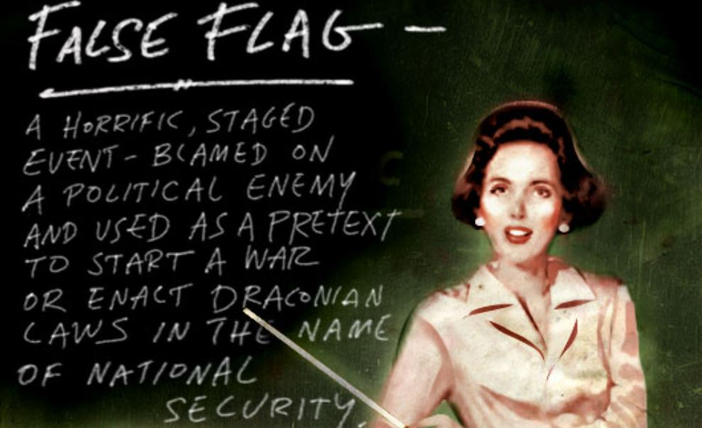 lesson on WHAT A FALSE FLAG OP looks like,                     fifty cases of 'em by Anita Sands