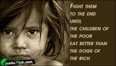 Fight means DOING SOMETHING. FIGHTING HUNGER means ACTIVISM