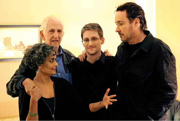 some present-day HEROES, Ellsberg,Cuzak,                 Arundhati Roy and SNOWDEN