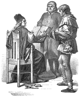 JUDGE screws up the peasant's life , serving only                   the Nobles.