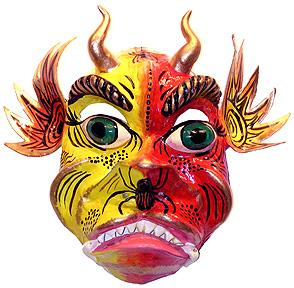GREAT                     DESIGNS for papier mache masks, crafts you can do                     with the kids and make a huge income