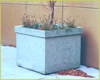 BIG                     CEMENT PLANTER, HOME ARTISANS can make a biz with                     this design