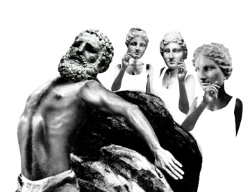 PROMETHEUS BOUND, trapped,                     immobilized. WHY?