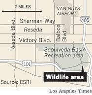 CHECK POINT CHARLIE in L.A. CALIF, ARMY BUILT A                   CAMP by removing a 42 acre WILD LIFE REFUGE, LAKE,                   MEADOWS, WOODS