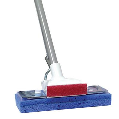 somebody's junked square head mop makes floor cleaning FREE, easy, if you have a rag collection.