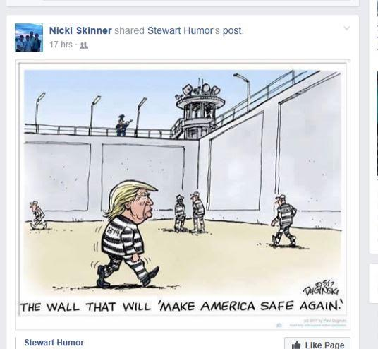 learn to laugh at donald trump. best cartoon